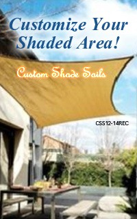 Custom Shade Sails-Costomize Your Shade Area!