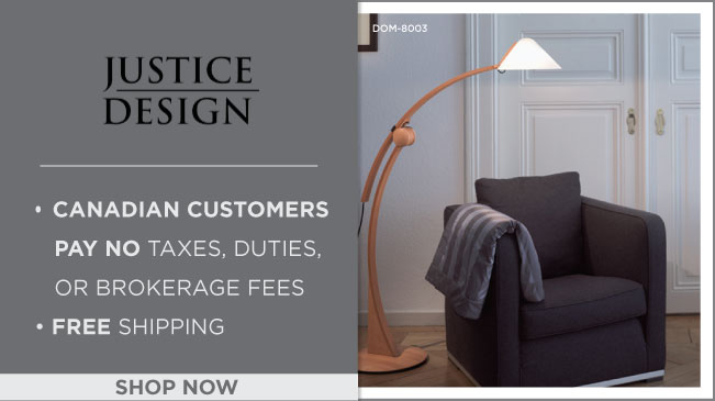 Justice Design: Free Shipping on every order!