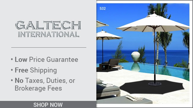 Galtech: Adding the Finishing Touch to Your Patio