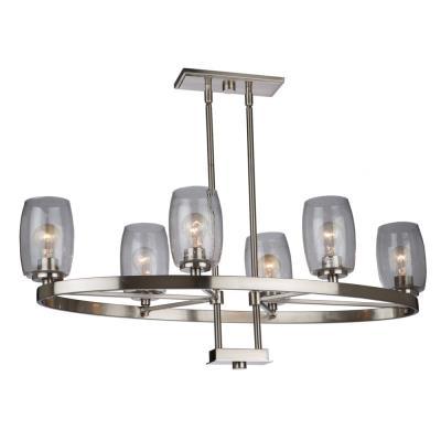 Artcraft lighting ac10536 san antonio six light chandelier mozeypictures Gallery
