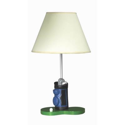 Cal lighting bo 5673 childs one light golf table lamp aloadofball Choice Image