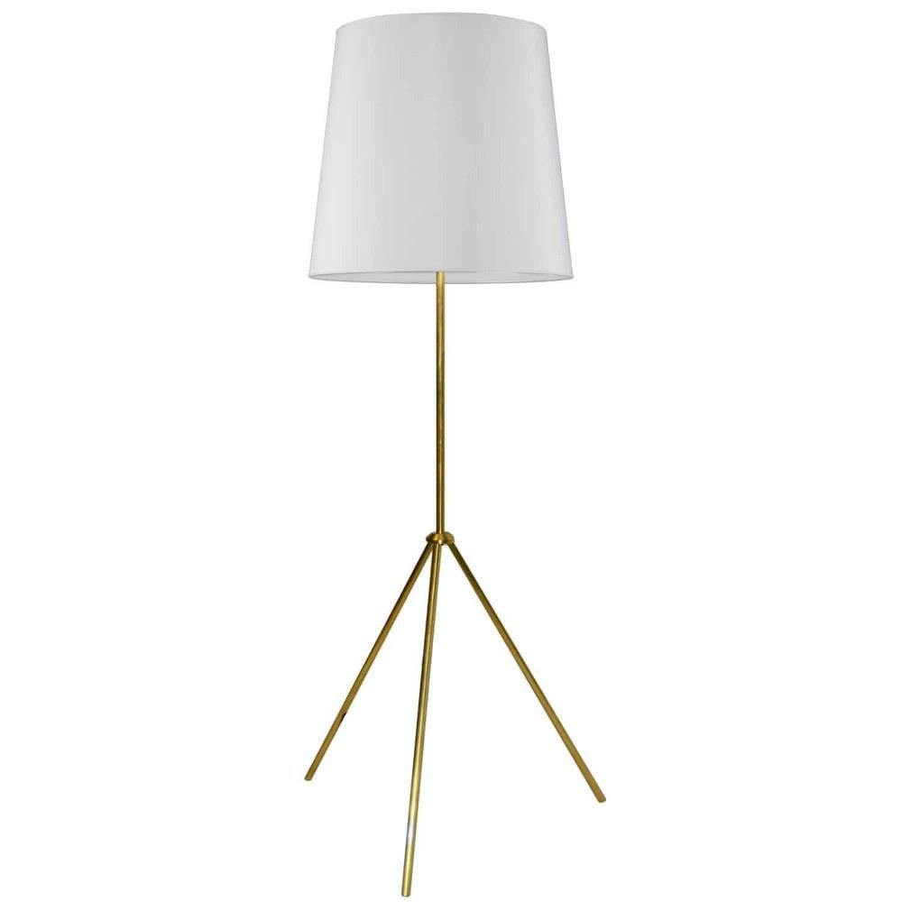 Oversized Drum One Light 3 Leg Drum Floor Lamp