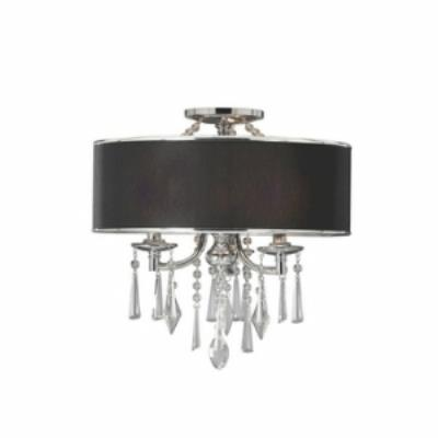 Golden Lighting 8981-SF GRM Echelon - Three Light Semi-Flush Mount