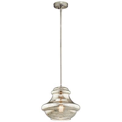 Kichler Lighting 42044NIMER Everly One Light Pendant