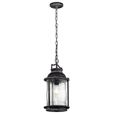 Kichler Lighting 49572WZC Ashland Bay - One Light Outdoor Pendant