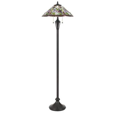 Quoizel Lighting TF3456FVB Tiffany - Two Light Floor Lamp