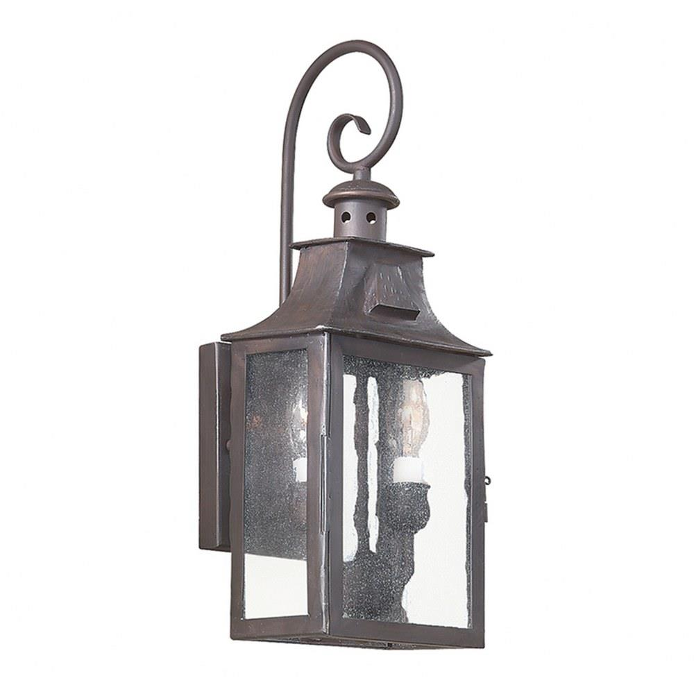 Newton - Two Light Outdoor Small Wall Lantern
