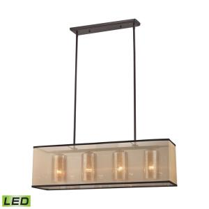 Billiard chandeliers island chandeliers canada lighting experts diffusion 34quot 38w 4 led chandelier aloadofball Image collections
