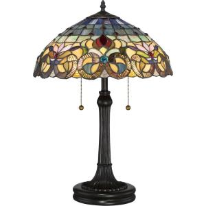 2dc37d4f9afb Tiffany - Two Light Table Lamp